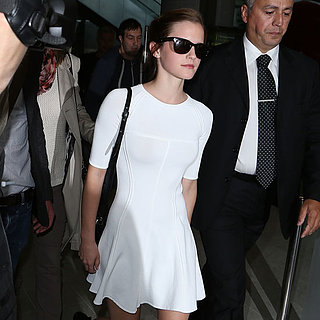 Emma Watson Arrives For Cannes Film Festival 2013