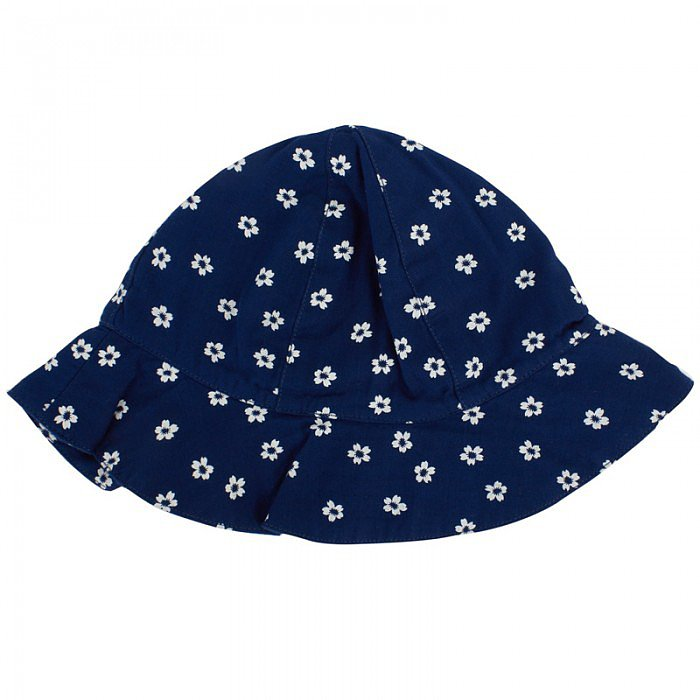 Simple and sweet, Petit Bateau's Daisy Print Hat ($25) features snap-up detailing so that the hat's coverage can be adjusted.