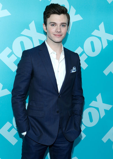 Chris Colfer partied with his Fox network mates.
