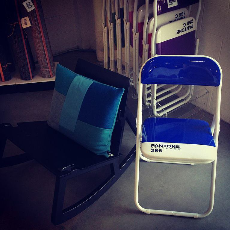Because our love for Pantone is no secret, these folding chairs ($84) have been immediately added to our entertaining wish list.