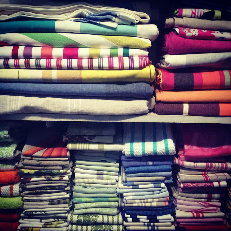 Having to settle on one linen tablecloth at Maison Midi would be unfair. Good thing we have all Summer to collect them all.