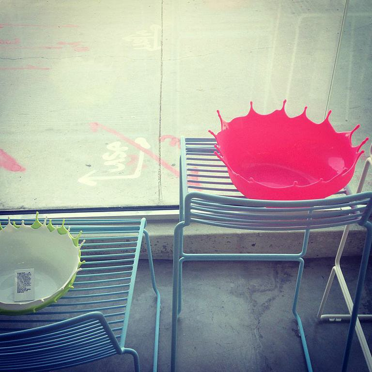 No doubt, these bowls ($50) would make a splash at your next pool party or anywhere throughout your home.