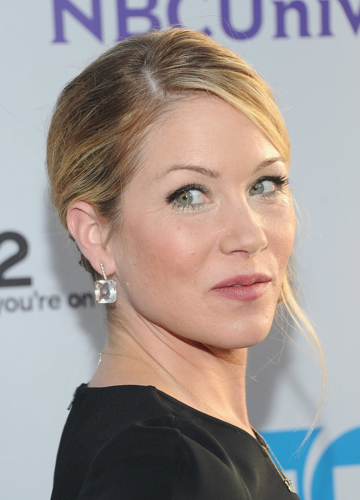 "In 2008, Christina Applegate talked about what it was like to have had a double mastectomy after cancer was detected in one of her breasts: ""Sometimes I cry. Sometimes I scream, and I get really angry and I get really into wallowing in self-pity sometimes, and I think it's all part of healing."""