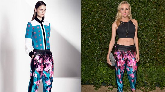 Diane Kruger Shows Major Midriff and More From the Prabal Gurung Dinner