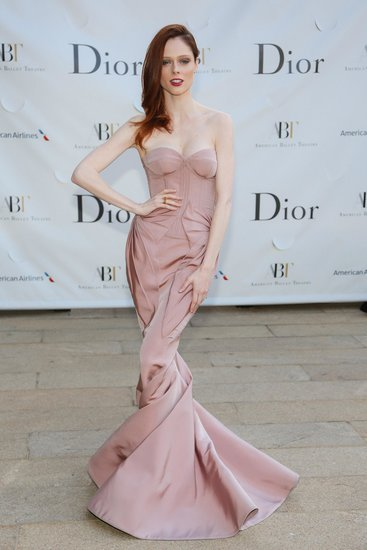 Coco Rocha wore Zac Posen at the American Ballet Theatre's Opening Night Gala in New York. Source: Will Ragozzno/BFAnyc.com