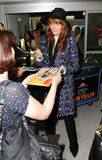 Florence Welch kicked off the Cannes Film Festival with her arrival on Tuesday.