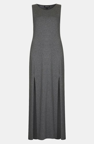 Topshop Double Split Maxi Dress