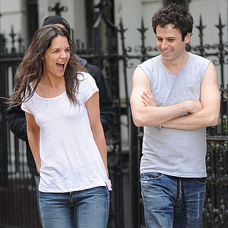 Katie Holmes on the Set of Mania Days in NYC