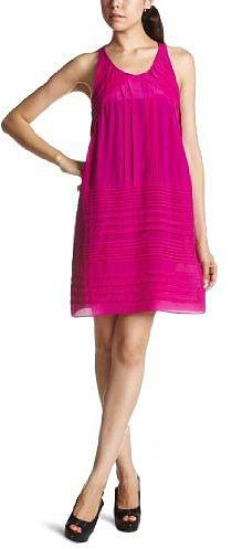 (グレイリン)GREYLIN Silk dress 24D1549  Fuchsia