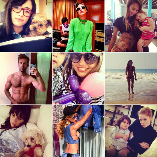 celebrity instagram pictures may 16 2013
