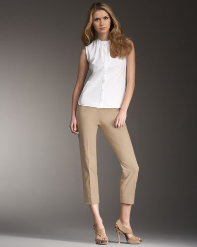 Piazza Sempione Audrey Capri Pants