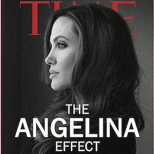 The Angelina Effect Magazine Cover