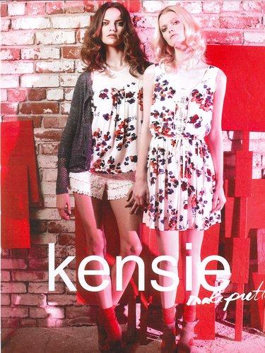 Model Barbara Fialho For Kensie