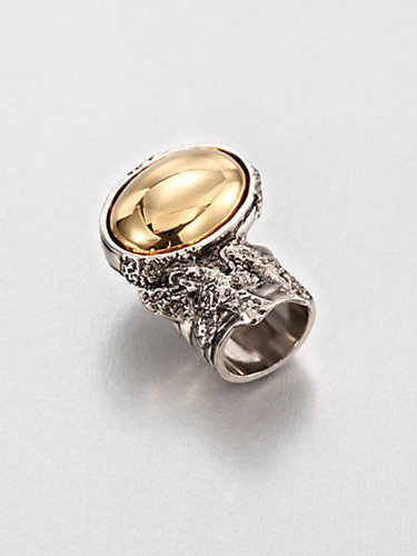Saint Laurent Two-Tone Arty Ring