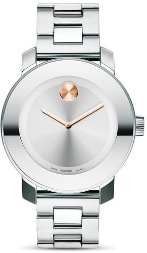 Movado BOLD Medium Stainless Steel Watch, 36mm