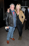 Kate Moss got together with her pal David Bailey for a charity auction.