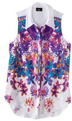 Mossimo® Women's Sleeveless Woven Shirt Blouse