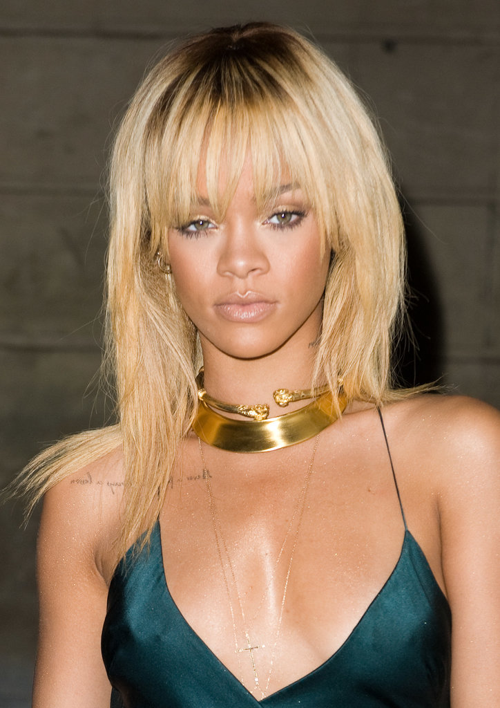 Rihanna has done brown, ombré, and everything in between, but she tried out this buttery blonde hue in 2012.