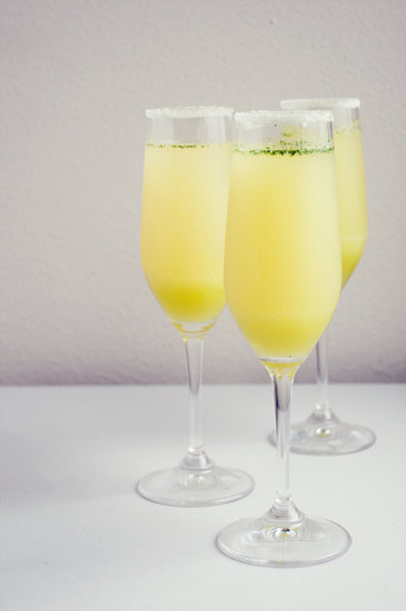 For College Grads: Limoncello Champagne Cocktail