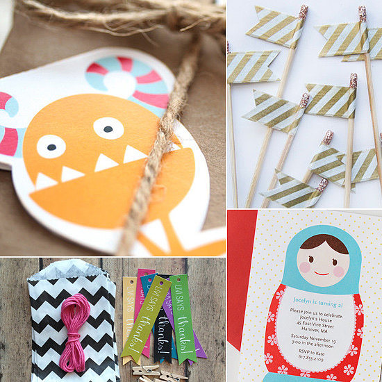 The Best Etsy Shops For Kids' Birthday Party Supplies