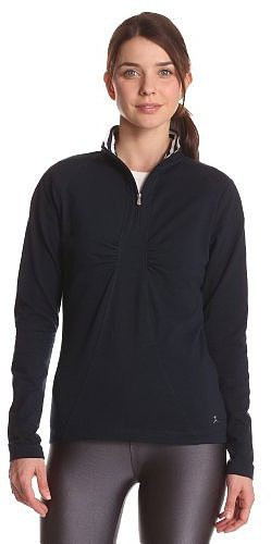 Danskin Women's 1/4 Zip Top