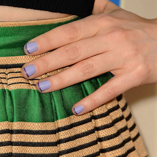 Zooey Deschanel Nails | New Girl