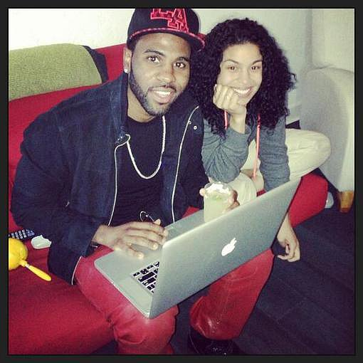 Jason Derulo spent some quality time with his girlfriend, Jordin Sparks. Source: Twitter user jasonderulo