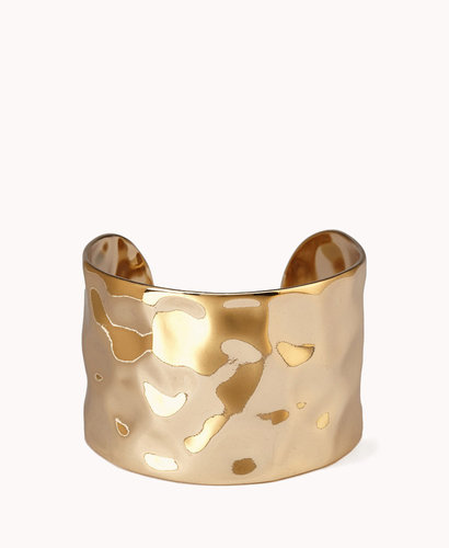 FOREVER 21 Hammered Metal Cuff