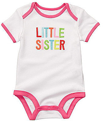 "Carter ́s Newborn ""Little Sister"" Bodysuit"