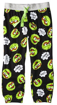 Sesame Street Juniors Cropped Sleep Pant - Assorted Characters