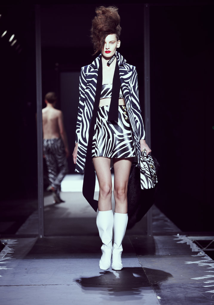 A look from the JW Anderson for Versus collection. Photo courtesy of Versace