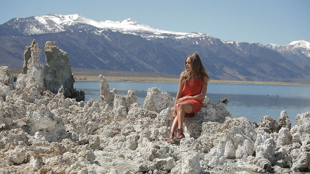 Kate Bosworth for Topshop Festival Summer 2013 campaign, shot by her fiancé, Michael Polish in Mono Lake, CA. Fun fact: the film — and campaign — was actually shot en route to Coachella.