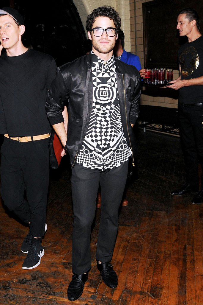 Darren Criss at the JW Anderson for Versus Launch Party. Source: Billy Farrell/BFAnyc.com