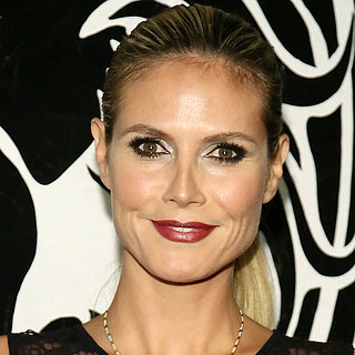 Heidi Klum & Hayden Panettiere at Versace Versus Launch