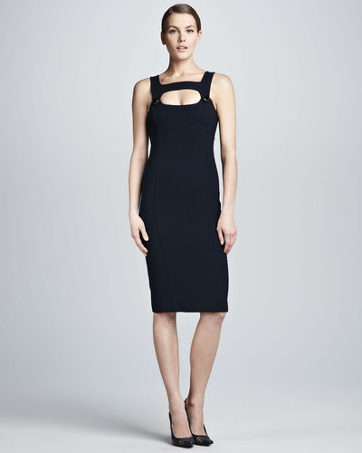 Michael Kors  Fitted Cutout Dress