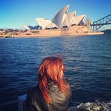 Coco Rocha shared this breathtaking snap of the Sydney Harbour. Source: Instagram user cocorocha