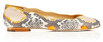 Jailyn Snake Print Flat