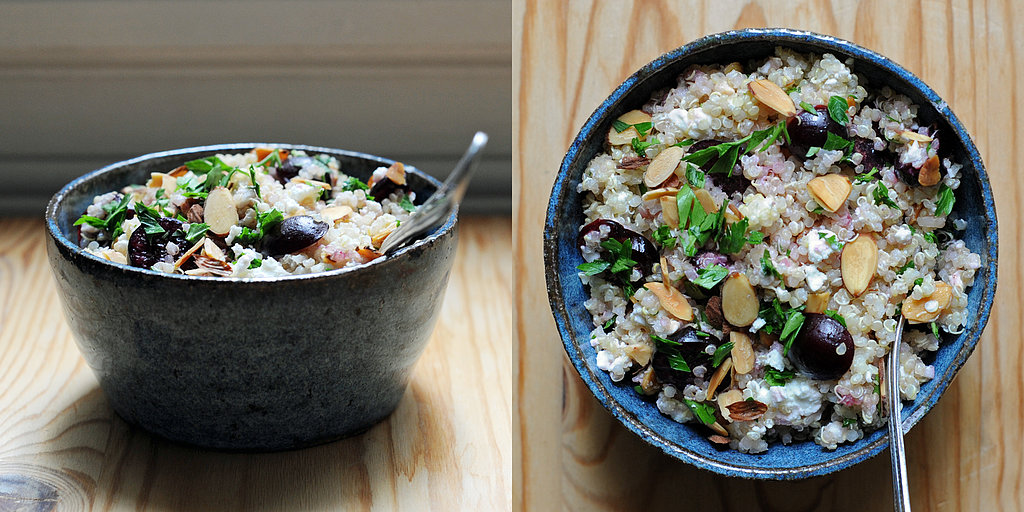 Off the Bookshelf: Quinoa Salad With Cherries and Feta