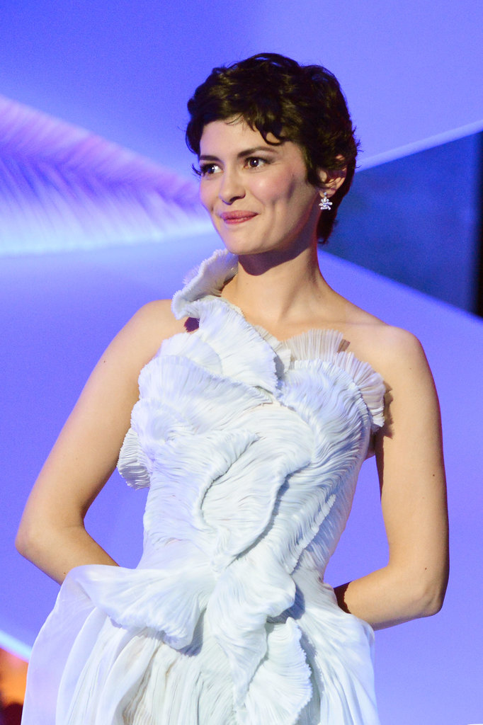 Audrey Tautou shining bright, like a diamond.