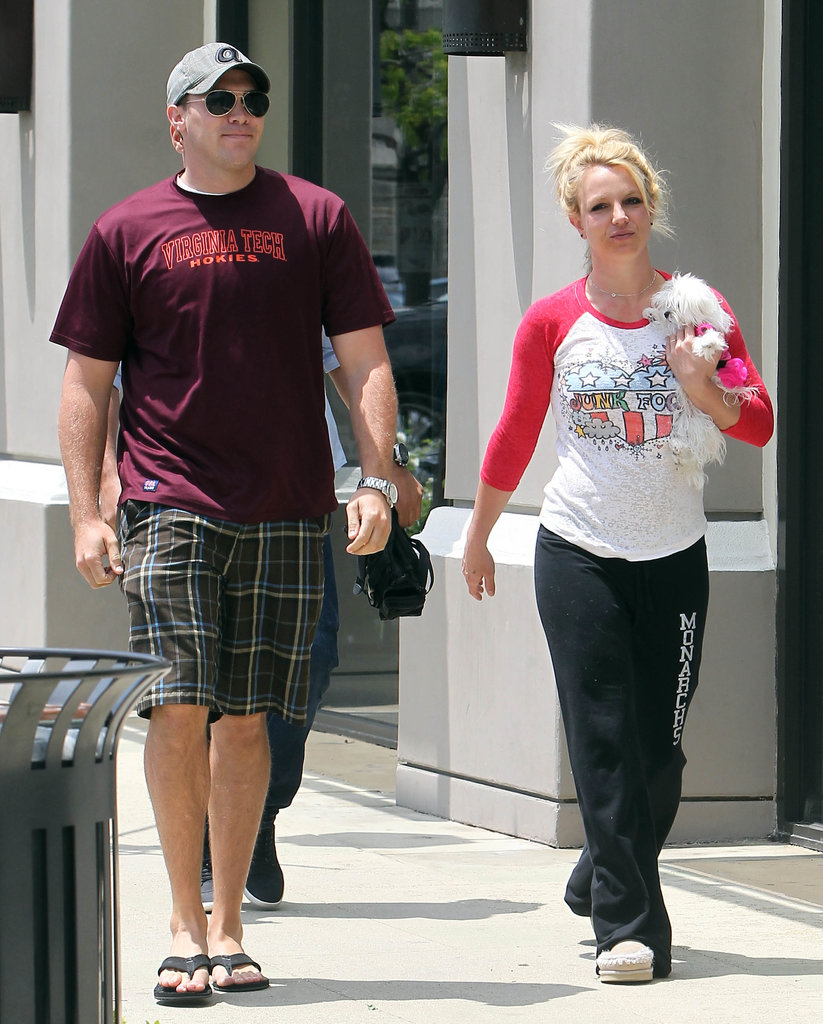 Britney Spears and David Lucado were out and about in LA.
