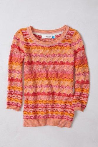 Scallop Stitch Pullover