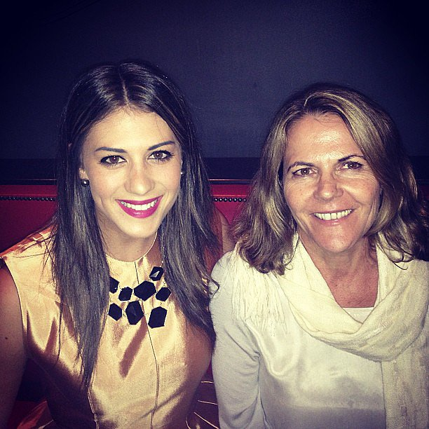 Stephanie Rice took a sweet photo with her mother. Source: Instagram user itsstephrice