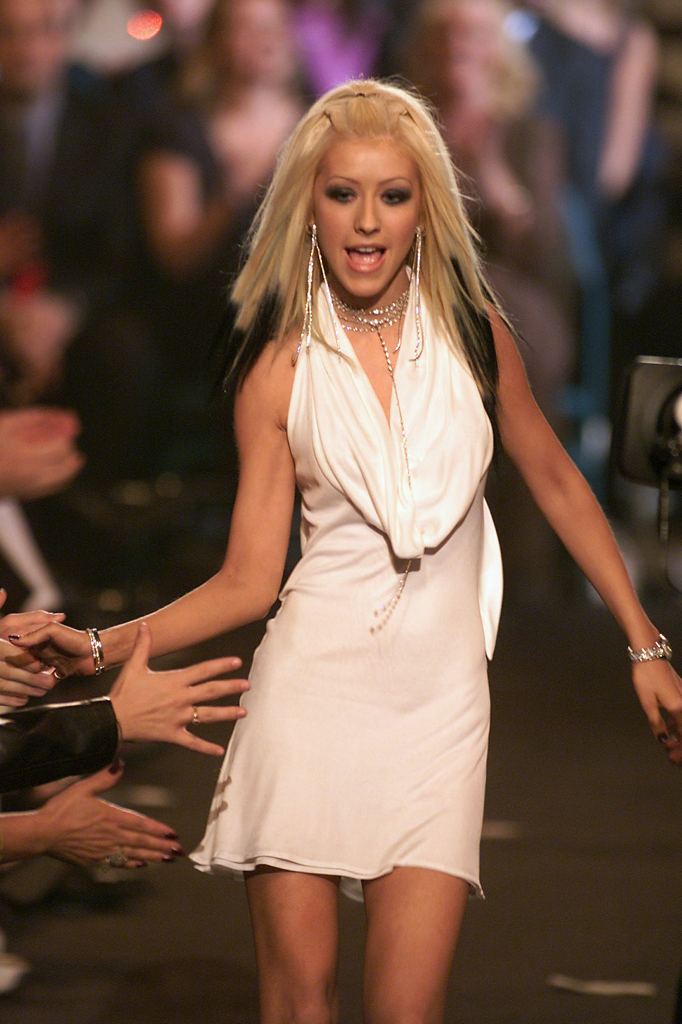 Christina Aguilera hit the stage during the 2000 show, back when it was held in December.