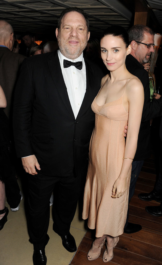 Rooney Mara attended the bash with Harvey Weinstein.