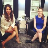 Chrissy Teigen stopped by our studios to talk about her new show, Model Employee.