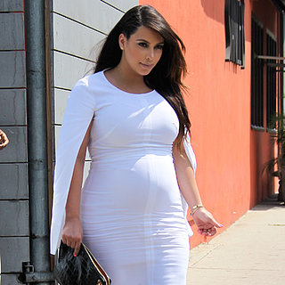 Kim Kardashian Sports Swollen Feet in High Heels