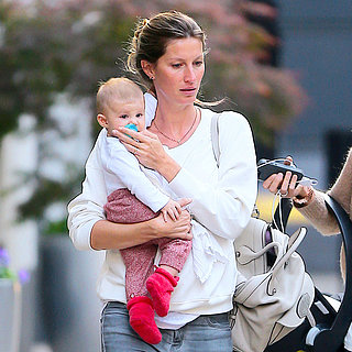 Gisele Bundchen With Vivian in NYC | Photos