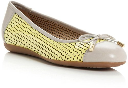 Geox Lola D32M4E toecap ballerina shoes