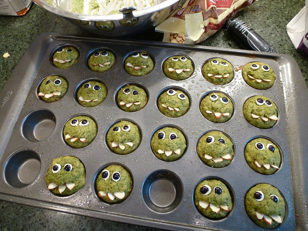 Prickly Mom's Green Monster Muffins