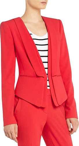 BCBGMAXAZRIA Alex Layered-Lapel Jacket